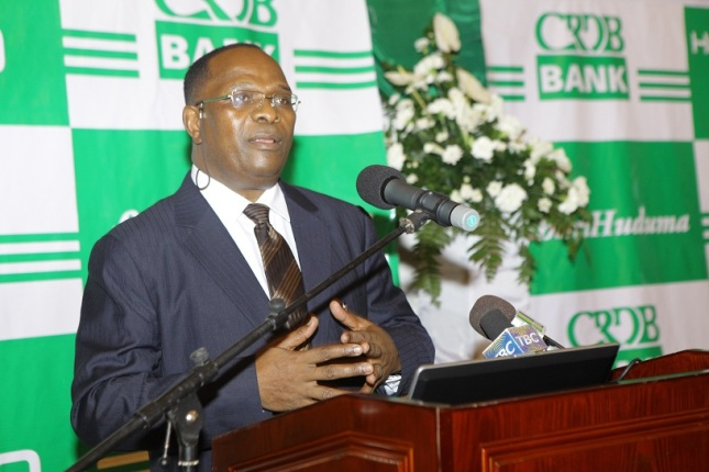 CRDB BANK Managing Director, Dr Charles Kimei